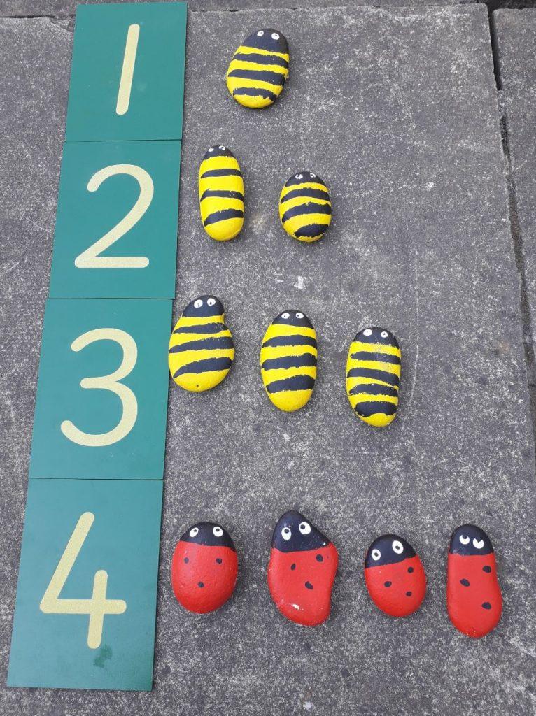 Outdoor numeracy activity